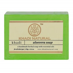 aloevera-handmade-herbal-soap-with-essential-oils-khadi-natural-aloe-vera-mylo-ruchnoj-raboty-s-efirnymi-maslami-kkhadi-125-g
