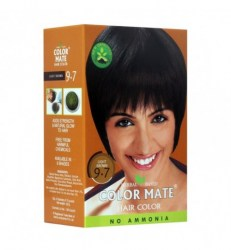 herbal-based-hair-color-light-brown-9-7-color-mate-kraska-dlya-volos-na-osnove-khny-svetlo-korichnevyj-9-7-kolor-mejt-5-paketikov-po-15-g
