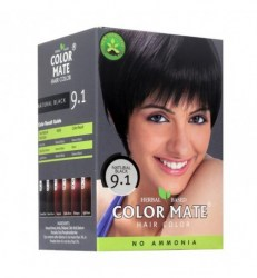 herbal-based-hair-color-natural-black-9-1-color-mate-kraska-dlya-volos-na-osnove-khny-naturalnyj-chernyj-9-1-kolor-mejt-5-paketikov-po-15-g