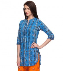 srishti-blue-printed-regular-tunic-xl-colour-blue-900-1
