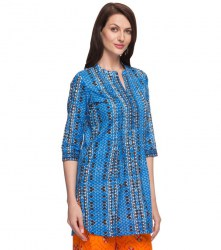 srishti-blue-printed-regular-tunic-xl-colour-blue-900-2