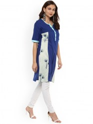 women-blue-printed-straight-kurta-size-xl3