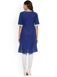 women-blue-printed-straight-kurta-size-xl4