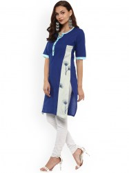 women-blue-printed-straight-kurta-size-xl5