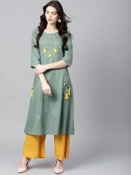 women-green-solid-a-line-kurta-size-xl