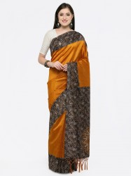 women-mustard-art-silk-printed-khadi-saree-saree-mall1
