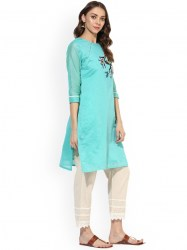 women-turquoise-blue-embroidered-a-line-kurta-size-xl1