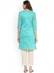 women-turquoise-blue-embroidered-a-line-kurta-size-xl2