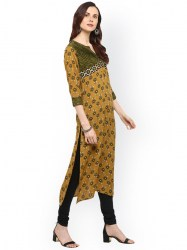 women-yellow-printed-straight-kurta-size-xl2